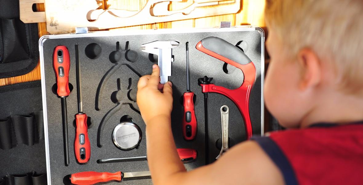 Детские инструменты для мальчиков не Bosch